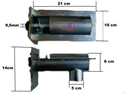 COCLEA VITE SENZA FINE PELLET L210mm laminox