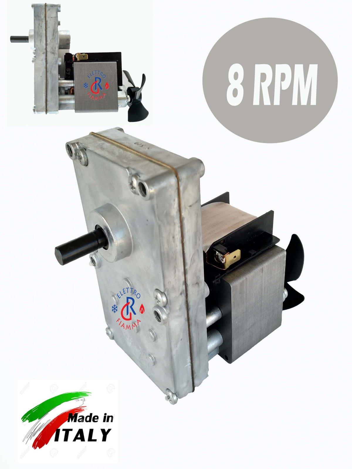 1,26 rpm MOTORIDUTTORE PELLET MELLOR Palazzetti Royal Kalor Piazzetta Termorossi