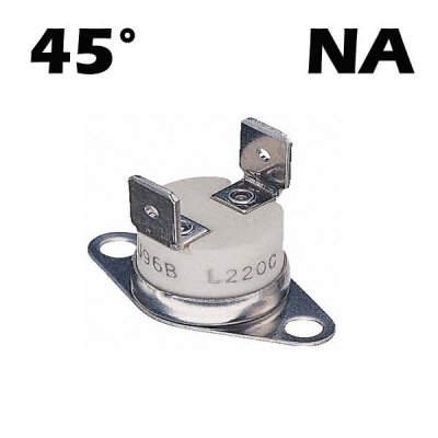 POELE A GRANULES THERMOSTAT THERMOSTOS A CENTRE 45C °