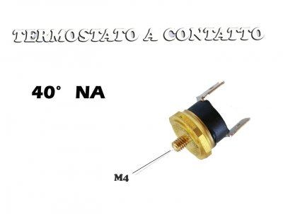 THERMOSTAT DE CONTACT 40 NA M4 FILETAGE