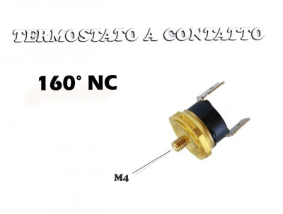 THERMOSTAT DE CONTACT KLIXSON 160 NC M4 FILETAGE