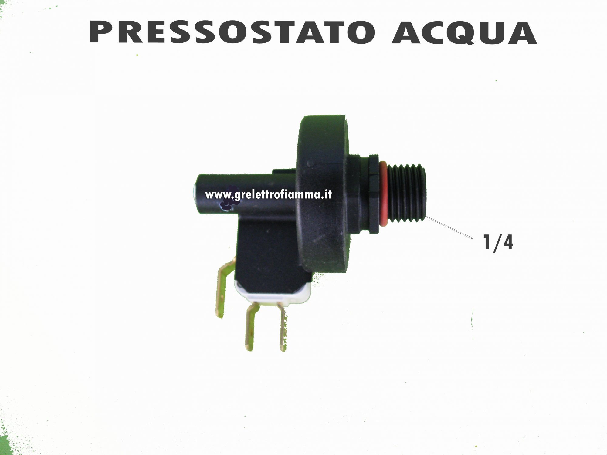 "TRASDUTTORE SENSORE DI PRESSIONE 1//4/"" M"