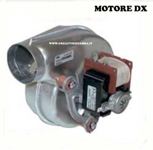 Ventola ventilatore centrifugo x camini d2e097 bk80e2 for Ventola centrifuga stufa pellet